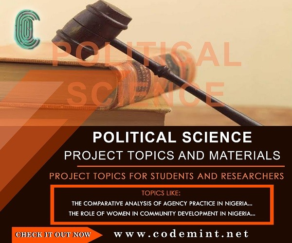 research project topics in political science